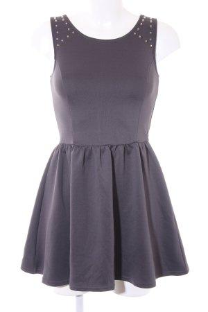 H&M Abendkleid dunkelgrau Elegant
