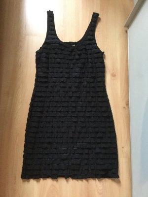 H&M Abendkleid in schwarz