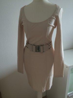 H&M Abendkleid Kleid beige XS 34 NEU Weihnachten Silvester