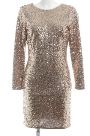 H&M Abendkleid roségoldfarben extravaganter Stil