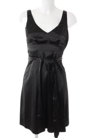 H&M Abendkleid schwarz Casual-Look
