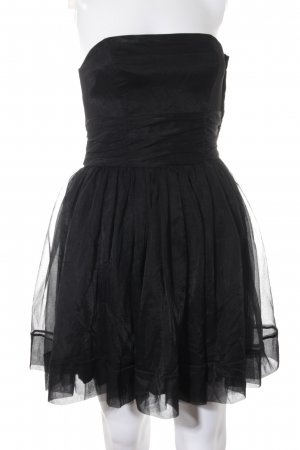 H&M Abendkleid schwarz extravaganter Stil