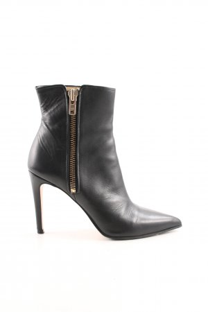 H&M Stivale con tacco nero stile professionale