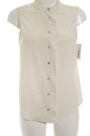 H&M ärmellose Bluse creme Business-Look