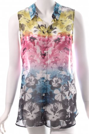 H&M ärmellose Bluse florales Muster