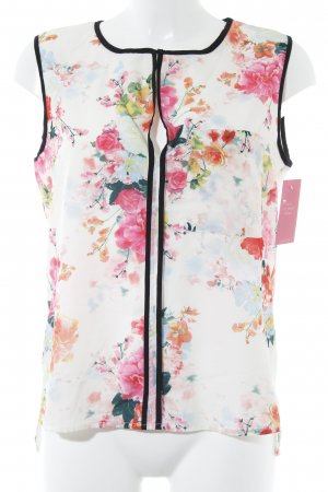 H&M ärmellose Bluse florales Muster Casual-Look