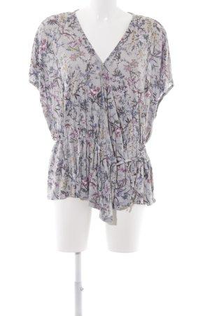 H&M ärmellose Bluse florales Muster Romantik-Look
