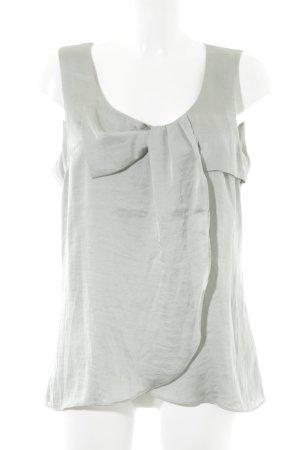 H&M ärmellose Bluse graugrün Elegant