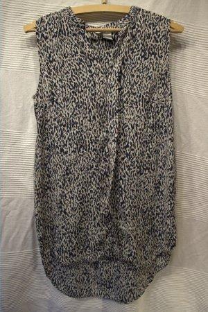 H&M Ärmellose Bluse, lang