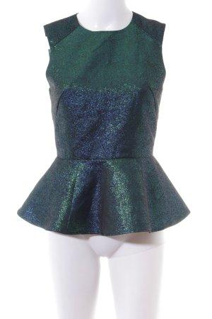 H&M Mouwloze blouse veelkleurig elegant