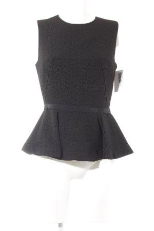 H&M ärmellose Bluse schwarz Casual-Look