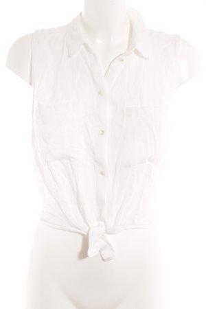 H&M Blouse sans manche blanc style décontracté