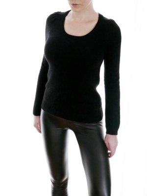 H&M Angora Wolle Strick Pullover schwarz – XS