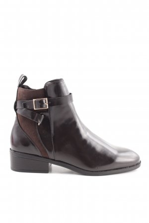H&M Ankle Boots black-brown business style