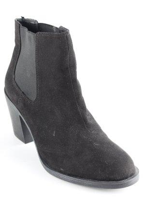H&M Ankle Boots schwarz schlichter Stil