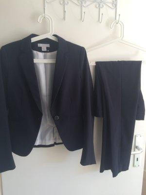 H&M Anzug in Dunkelblau