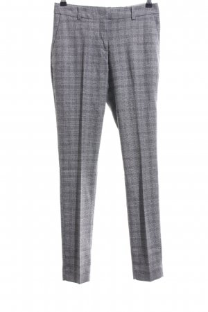 H&M Suit Trouser light grey check pattern casual look