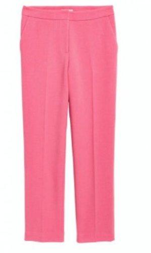 H&M Anzughose rosa 38 Hose Bügelfalte Chino Stoffhose
