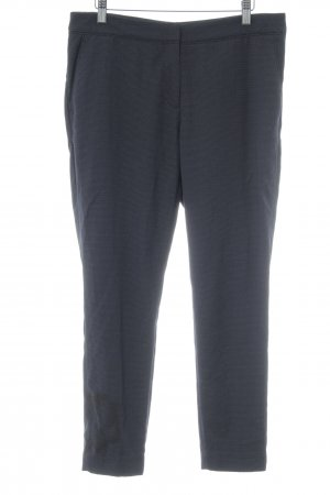 H&M Anzughose schwarz-weiß Punktemuster Casual-Look