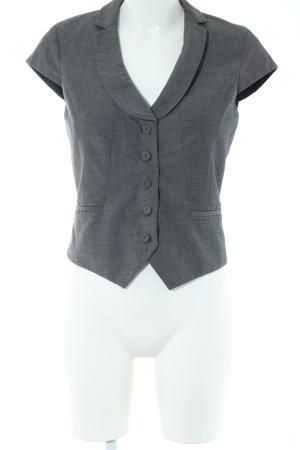 H&M Gilet de costume gris clair style d'affaires
