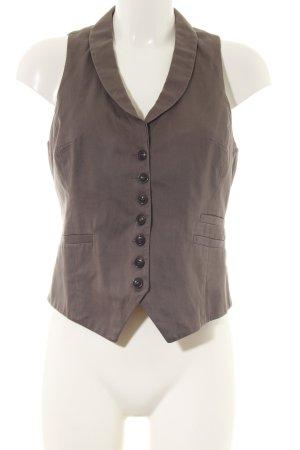 H&M Gilet de costume brun style d'affaires