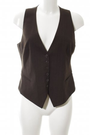 H&M Waistcoat brown business style