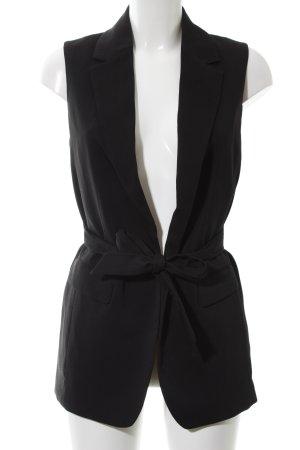 H&M Gilet de costume noir style d'affaires