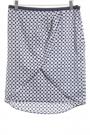 H&M Asymmetrische rok abstract patroon casual uitstraling