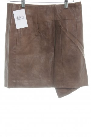 H&M Asymmetrie-Rock cognac Casual-Look