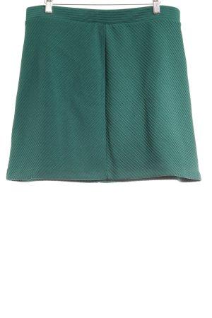 H&M Jupe asymétrique vert forêt style décontracté