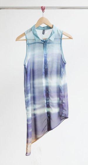 H&M asymmetrische Hemdbluse