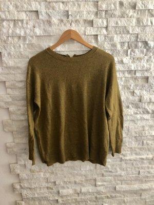 H&M Jersey largo color bronce-ocre Algodón