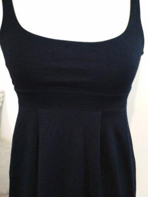 H & M Babydoll Kleid schwarz Größe 34 / XS