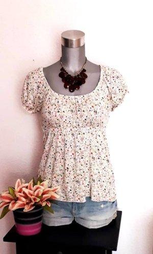 H&M Babydoll Shirt Gr.38/40 Flower Style
