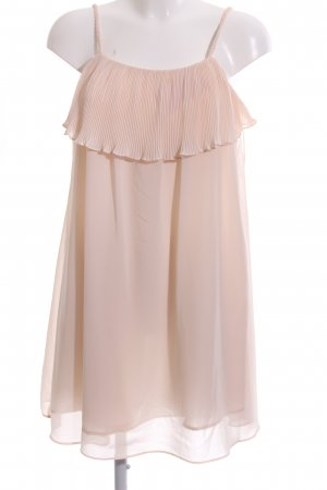 H&M Babydoll Dress nude casual look