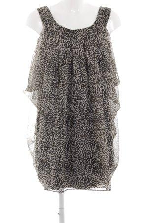 H&M Babydoll Dress leopard pattern extravagant style