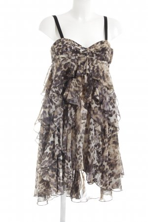 H&M Babydoll Dress spots-of-color pattern extravagant style