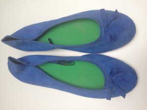 H&M Ballerina blau royalblau