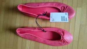 H&M Ballerina Coral Grösse 39