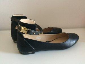 H&M Ballerinas Gr. 40 schwarz wie neu