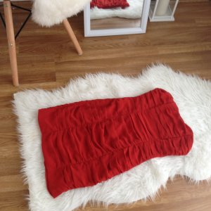 H&M Ballkleid 34 XS Etui Kleid Drape Abendkleid Rot NEU Valentino Raffung