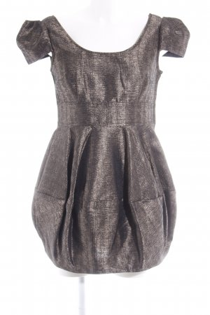 H&M Balloon Dress bronze-colored-black party style