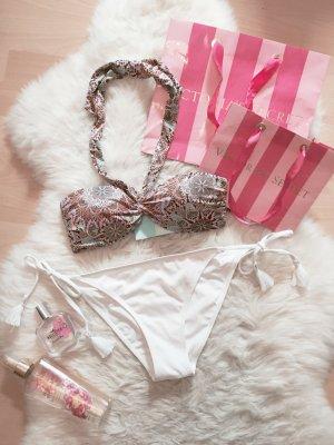 H&M Bandeau Bikini Top Blogger Neckholder NEU Gr.S