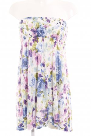 H&M Bandeaukleid Blumenmuster Casual-Look