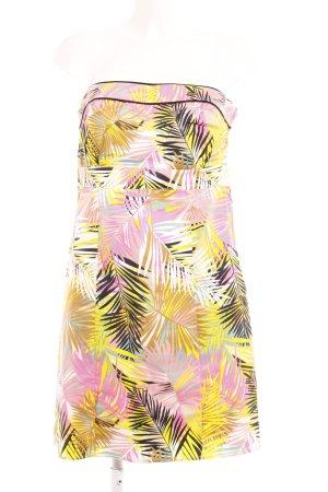 H&M Bandeaukleid florales Muster