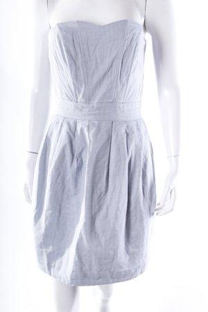 H&M Bandeaukleid Jeansoptik