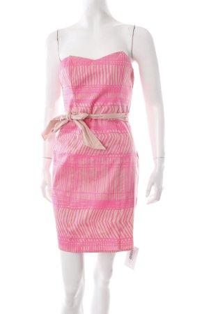 H&M Bandeaukleid nude-pink Ethnomuster extravaganter Stil