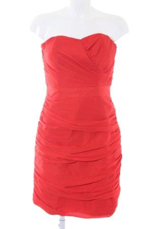 H&M Robe bandeau rouge style mouillé