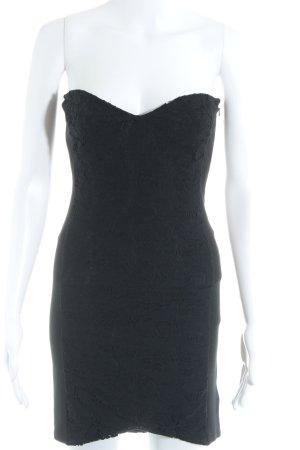 H&M Vestido bandeau negro look casual