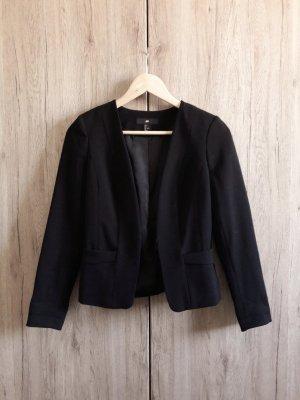H&M Basic Business Blazer schwarz Gr. 34